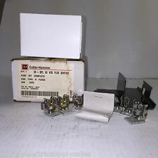 Cutler-Hammer Eaton 1226C94G02 600V 30A TYPE R FUSE KIT VISIFLEX SWITCH (NEW)
