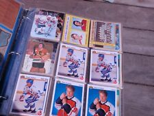 VINTAGE MIXED  LOT OF OVER 150 SPORT HOCKEY CARDS  1980 - 1981
