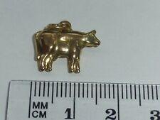 9ct Gold vintage Cow Charm C1978