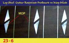 "Free Shipping, Lap Steel Fretboard w/MOP Inlay Scale 23""(G-6)"