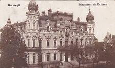 ROMANIA - Bucuresti/Bucharest - Ministerul de Externe 1927