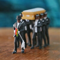 Ghana's dancing pallbearers Coffin Dance Figure Statue Cosplay Toy TikTok HipHop