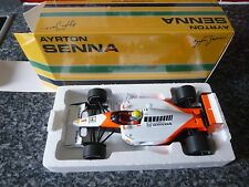 Minichamps 1:18 MCLAREN HONDA 1991 AYRTON SENNA CAMPIONE DEL MONDO