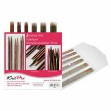 Wooden Double Point Knitting Needles
