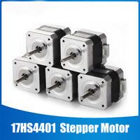 Nema 17 Stepper Motor (Schrittmotor) 500rpm 12V 1.7A 4-wire 1m cable 3D Printer