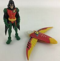 "Robin Unlimited Batman Sidekick 6"" Figure 2pc Lot Accessory Mattel DC Comic  A17"
