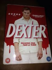 Dexter - Series 1-3 - Complete (DVD, 2010, 13-Disc Set, Box Set)