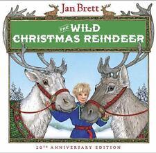 The Wild Christmas Reindeer by Jan Brett, NEW