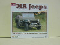 Wings & Wheels Publications Photo Manual Book R070 MA Jeeps in detail