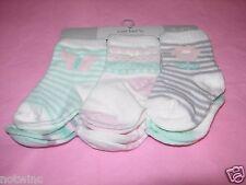 Carter's infantil 3-12 meses Bebé Niña 6 pares de calcetines variedad pack
