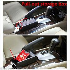 Pocket Sliding Dash Phone Pen Money Coins Keys Case Storage Box Holder Container