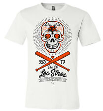 "Houston Astros ""Dia De Los Stros"" World Series 2017 Tshirt White unisex (MEDIUM)"