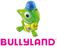 Figurine Walt Disney Mike Monstres et Compagnie Peint Main Jouet Bullyland 12570