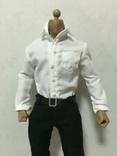 "DOLLSFIGURE 1:6th 12"" Male Figure Accessory White Shirt Model Toy"