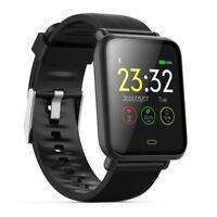Waterproof Sports Bluetooth Smart Watch Heart Rate Bracelet for iPhone Samsung