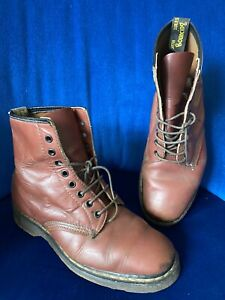Rare Vintage Dr Martens Boots UK 8 Made In England 70's 80's