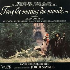 "JORDI SAVALL ( DIR. MUSICALE ) - "" TOUS LES MATINS DU MONDE "" - CD - NEU"