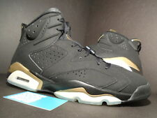 2005 Nike Air Jordan VI 6 Retro DMP BLACK GOLD DEFINING MOMENTS 136038-071 DS 13