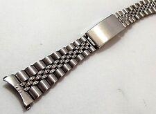 bracciale jubilee street orologi acciaio ansa curva 17 mm vintage