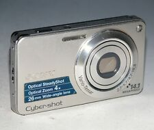 Sony Cyber-shot DSC-W350 14.1MP Digital Camera - Silver  #8698