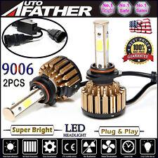 4-Sides LED Headlight Kit 9006 HB4 360W 6000K 36000LM Bulbs Replace Halogen HID