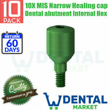 10X MIS Narrow Healing cap Dental abutment Internal Hex