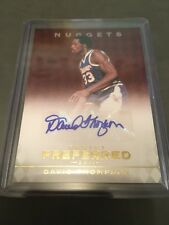 2011-12 Panini Preferred Red David Thompson Auto Card #29/74 AUTOGRAPH NC STATE