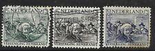 Netherlands 1930 - Rembrandt Society - Rembrandt stamps - Used