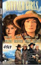 Buffalo Girls (1995) VHS Fox  Anjelica Huston Gabriel Byrne Melanie Griffith