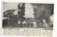 Postcard Our House Tavern Farmingdale NJ