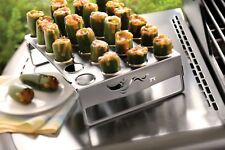 Large Hole Jalapeno Grill Rack Holds 24 Outset QS83 1.25 Diameter Holes