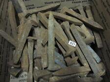 "56 Railroad Spikes Nails 6""  Blacksmith, Train Track Nail"