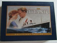 Titanic Videocassette Collectors Edition & 24 pg Photo Book Film Memorable Scene
