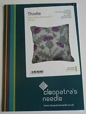 THISTLE herb pillow tapestry chart Cleopatra's Needle