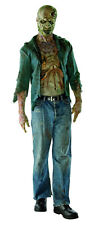 New The Walking Dead DeComposed Zombie Costume Mens Std up jacket sz 44
