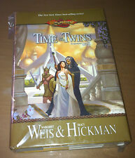 DRAGONLANCE TIME OF THE TWINS HARDCOVER 1ST/1ST  AUTOGRAFO SIGN BY M. WEIS NUOVO