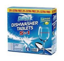 DUZZIT DISHWASHER LEMON FRAGRANCE TABLETS 5 IN 1