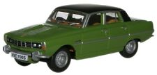 Oxford 76RP001 Rover P6 3500S V8 Saloon Green 1/76 Scale = 00 Gauge New in Case