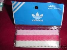 Adidas Originals Baller id Bands Bracelets Wristbands Pink White Red 3 pk New!