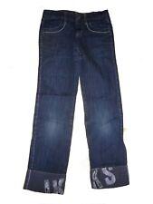 IKKS tolle Jeans Hose Gr. 116 / 122 mit Beinumschlag !!
