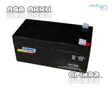 Akku AGM Batterie Bleiakku 12V - 3,2Ah Solar Maße 61 x 134 x 67 Glasfaservlies