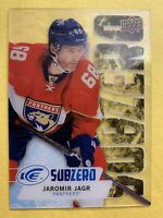 2016-17 Upper Deck Ice Subzero Legend #SZ-5 Jaromir Jagr Florida Panthers SP