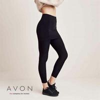 AVON Ladies Womens Body Illusions Skirted Leggings with Skirt Skeggings 22 24