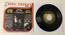 """RARE 7"""" APPLE EMI ITALY 1975 JOHN LENNON STAND BY ME / MOVE OVER MS. L"""