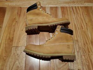 "Timberland Men's 6"" PREMIUM Waterproof WORK BOOTS  73540 SIZE 14 New"