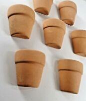 """Terra Cotta Terracotta Flower clay pot planters small 10 pcs 1.75"""" Flower Garden"""