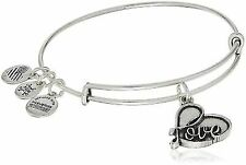 #research Alex and Ani Love IV Charm Bracelet