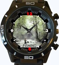 Fishing Fun Lover New Gt Series Sports Unisex Gift Watch