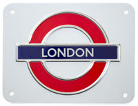 TFL™3106 Licensed London Roundel™ Metal Sign Medium Size