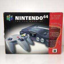 Nintendo 64 Console Box Only No Paperwork Or Styrofoam Empty 9/10